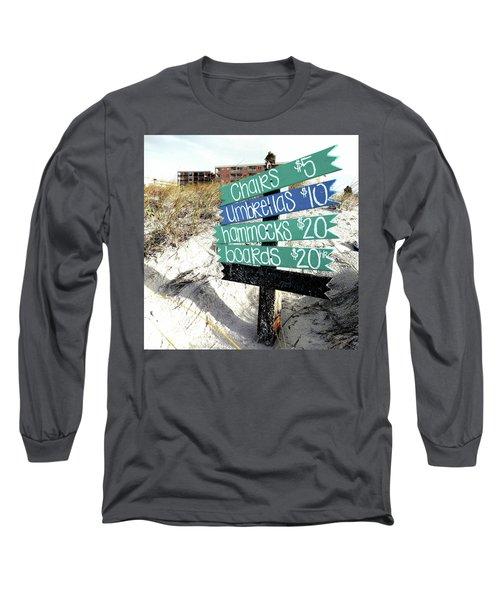 Relax For Twenty Long Sleeve T-Shirt