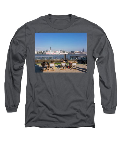 Relax On The Elbe Long Sleeve T-Shirt