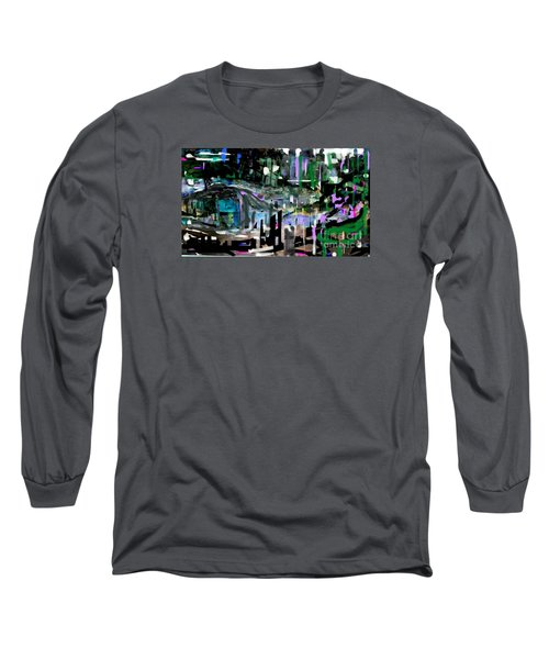 Relaxed Evening At The Pool Club Long Sleeve T-Shirt