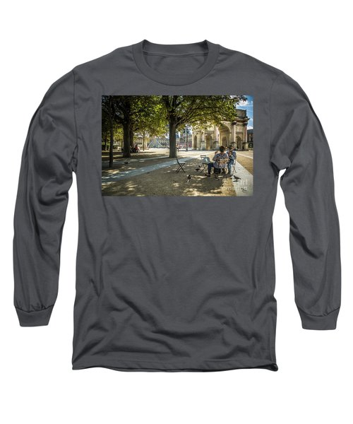 Relaxing Afternoon In Paris Long Sleeve T-Shirt