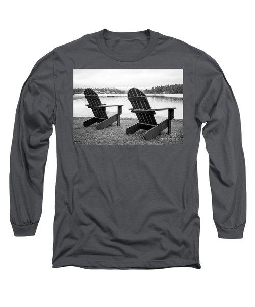 Relaxing At The Lake  Long Sleeve T-Shirt