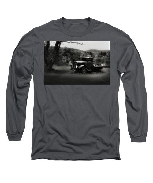 Long Sleeve T-Shirt featuring the photograph Relic Truck by Bill Wakeley