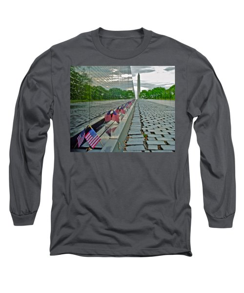 Remembrance Of Patriotism Long Sleeve T-Shirt