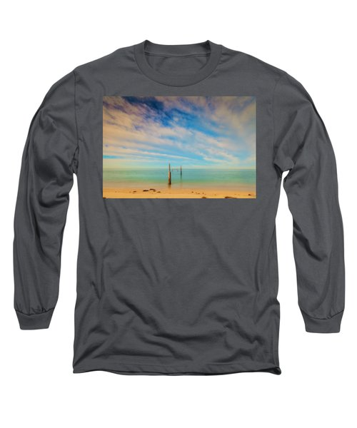 Remenants Long Sleeve T-Shirt by David Cote