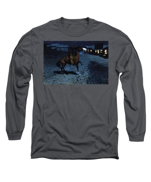 Remington Frederic An Arguement With The Town Marshall Long Sleeve T-Shirt