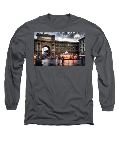 Republic Square In The City Of Florence Long Sleeve T-Shirt
