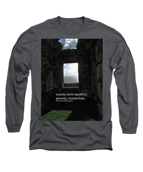 Republics And Monarchies Long Sleeve T-Shirt by Ian  MacDonald