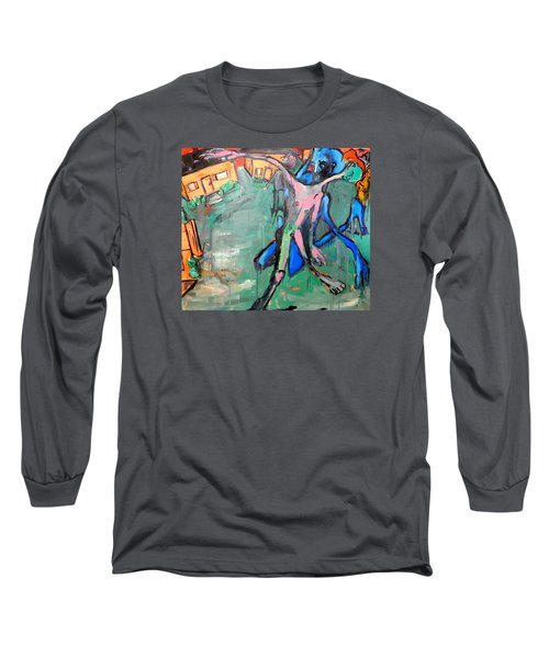 Residential Sweep Long Sleeve T-Shirt by Kenneth Agnello