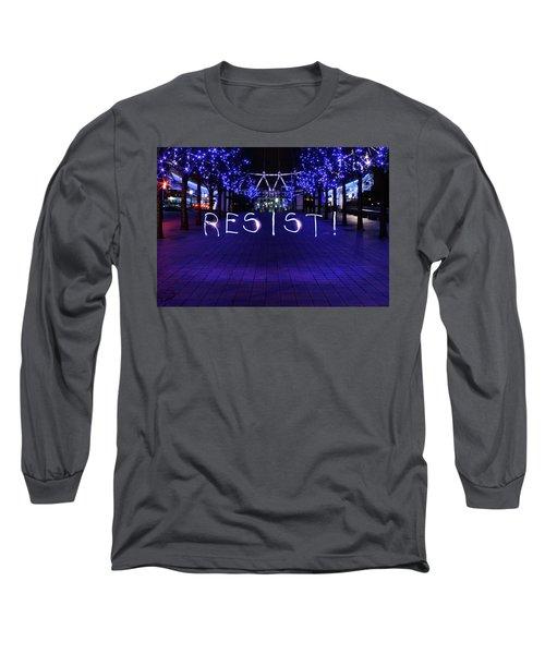 Resistance Light Painting Long Sleeve T-Shirt