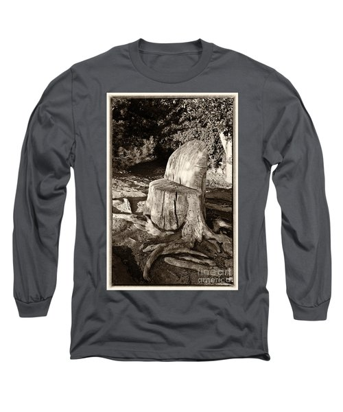 Rest Stop Long Sleeve T-Shirt by Vinnie Oakes