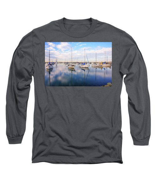 Resting On Glass Long Sleeve T-Shirt by Joseph S Giacalone