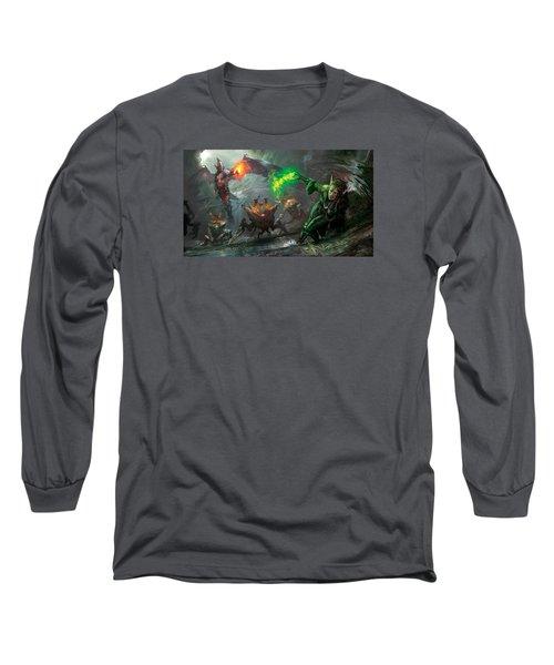 Retaliation Of Ob Nixilis Long Sleeve T-Shirt