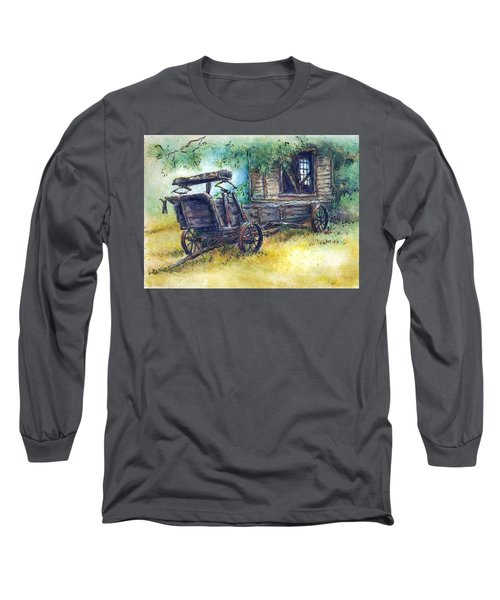 Retired At Last Long Sleeve T-Shirt