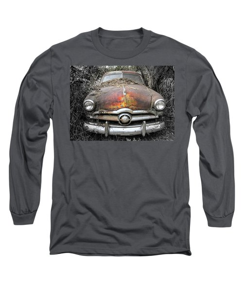 Retired Long Sleeve T-Shirt by Patrice Zinck