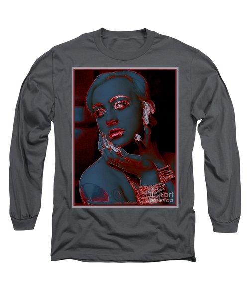 Retro Beauty Long Sleeve T-Shirt