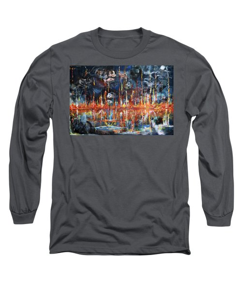 Revelations 20_ 14-15 Long Sleeve T-Shirt by Gary Smith