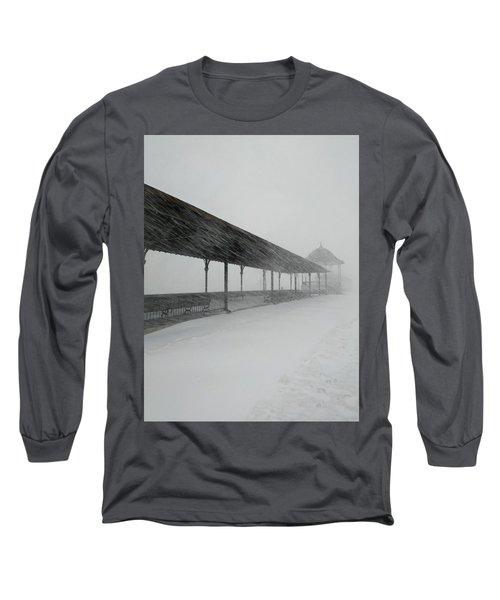 Revere Beach Nor'easter -jan 4,2018 Long Sleeve T-Shirt