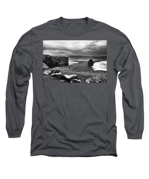 Reynisfjara Long Sleeve T-Shirt by Wade Courtney