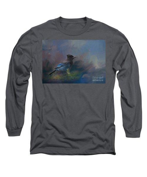 Rhapsody In Blue Long Sleeve T-Shirt