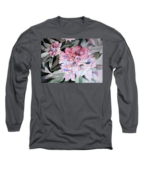 Rhododendron Rose Long Sleeve T-Shirt