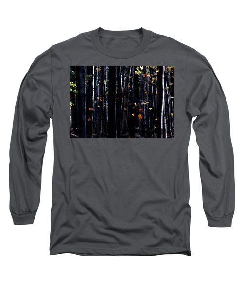 Rhythm Of Leaves Falling Long Sleeve T-Shirt by Bruce Patrick Smith
