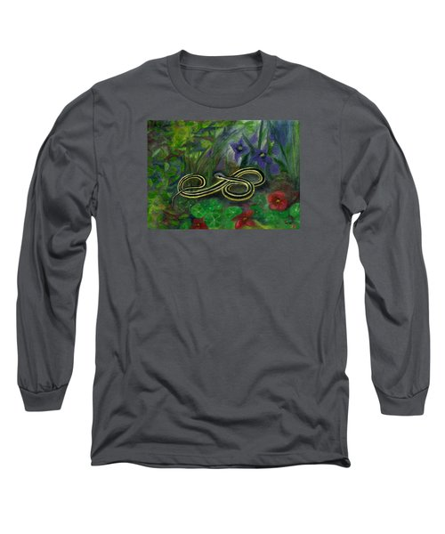Ribbon Snake Long Sleeve T-Shirt