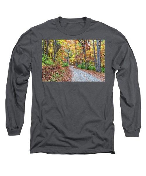 Rich Mountain Road Long Sleeve T-Shirt