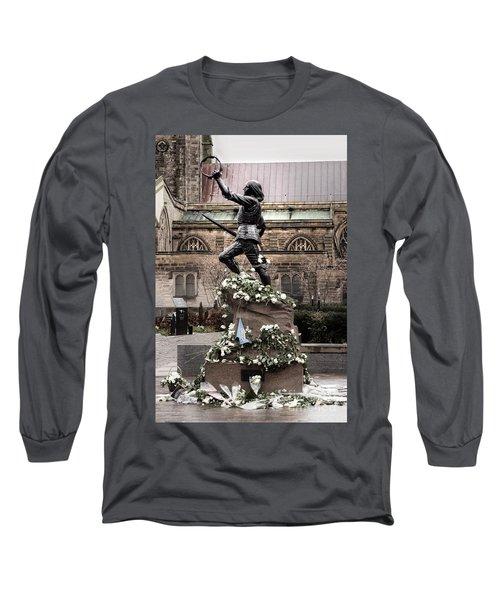 Richard The Third Statue Long Sleeve T-Shirt