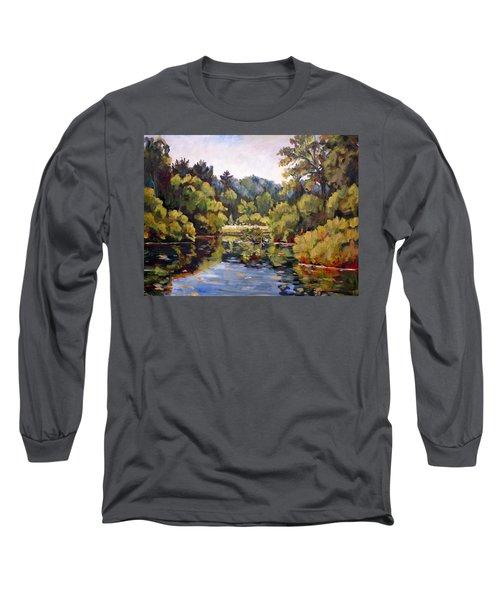 Richard's Pond Long Sleeve T-Shirt by Alexandra Maria Ethlyn Cheshire