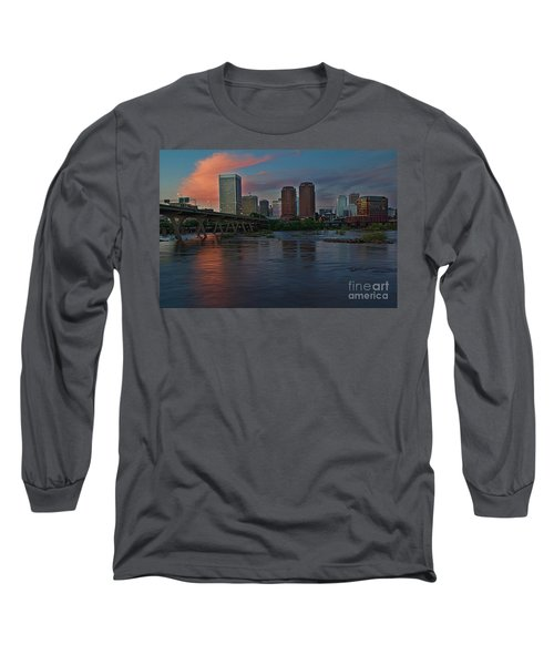 Richmond Dusk Skyline Long Sleeve T-Shirt