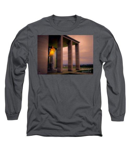 Long Sleeve T-Shirt featuring the photograph Richmond Virginia War Memorial by Melissa Messick