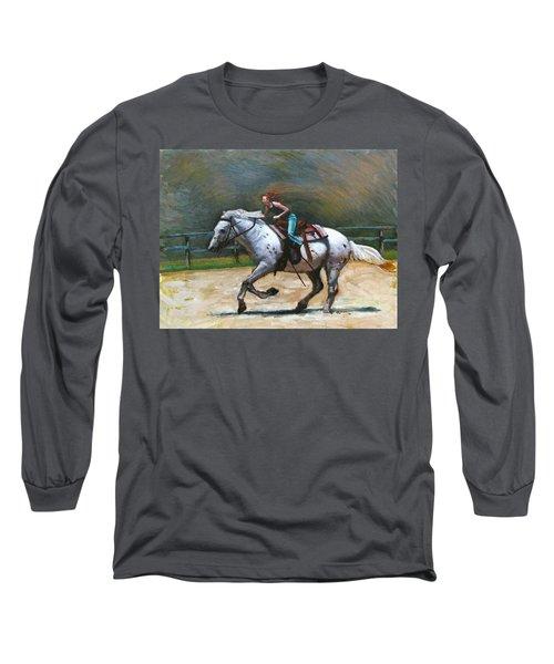 Riding Dollar Long Sleeve T-Shirt