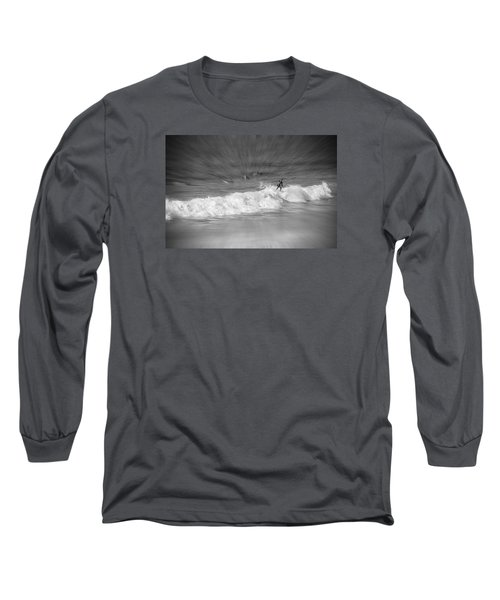 Riding It Out Long Sleeve T-Shirt by Susan  McMenamin