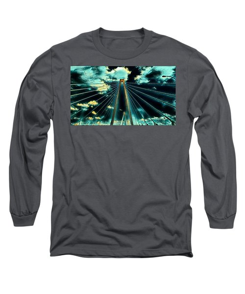 Riding The Ravenel Long Sleeve T-Shirt