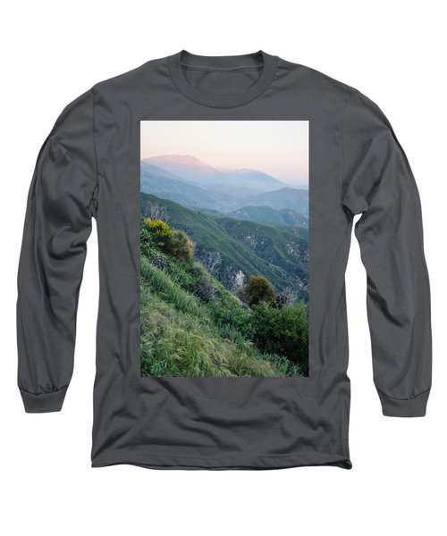 Long Sleeve T-Shirt featuring the photograph Rim O' The World National Scenic Byway II by Kyle Hanson