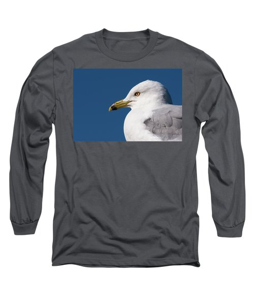 Ring-billed Gull Portrait Long Sleeve T-Shirt