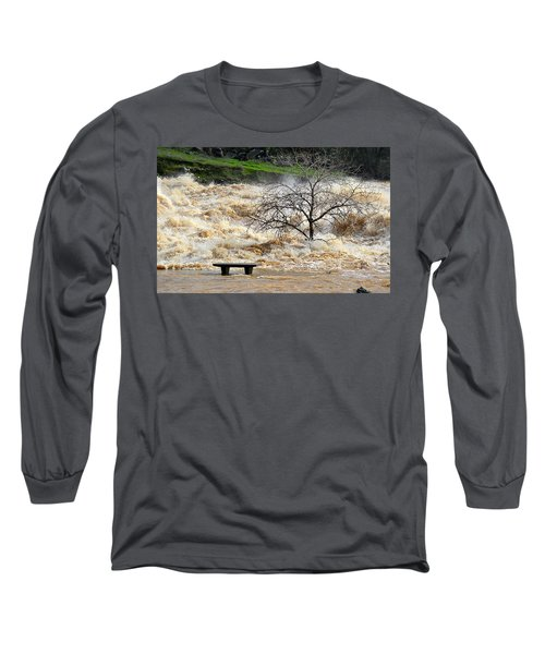 Long Sleeve T-Shirt featuring the photograph Ringside Seat by AJ Schibig