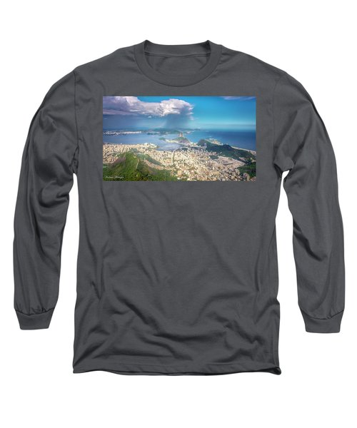 Long Sleeve T-Shirt featuring the photograph Rio De Janeiro by Andrew Matwijec