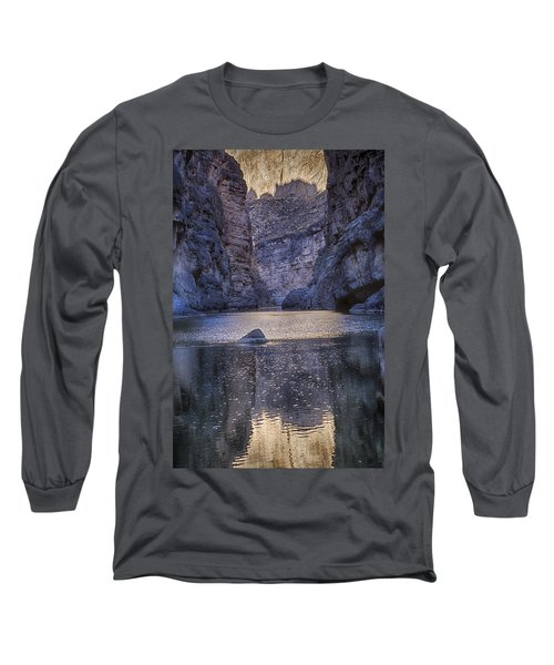 Rio Grand, Santa Elena Canyon Texas Long Sleeve T-Shirt