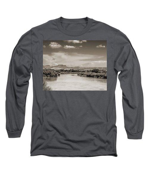 Rio Grande In Sepia Long Sleeve T-Shirt