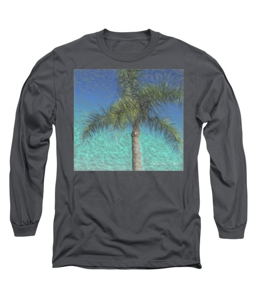 Rippled Palm Long Sleeve T-Shirt