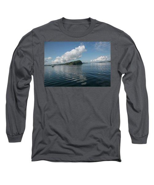 Long Sleeve T-Shirt featuring the photograph Ripples by Elvira Butler