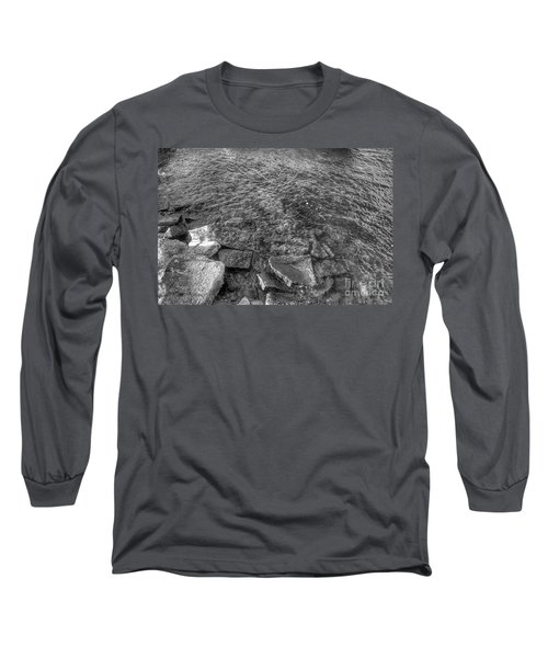 Ripples On Lake Champlain Long Sleeve T-Shirt