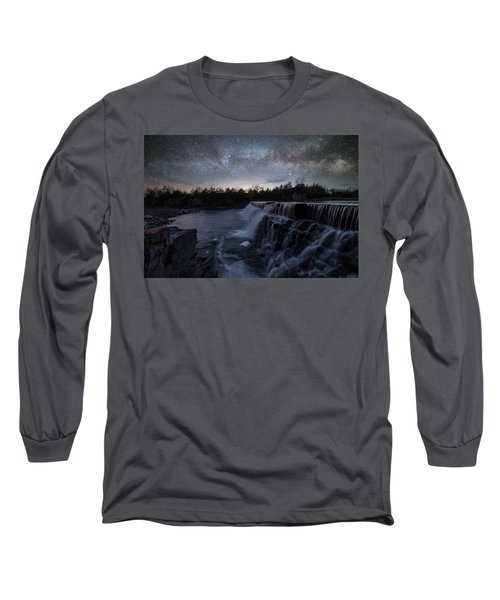 Long Sleeve T-Shirt featuring the photograph Rise And Fall by Aaron J Groen