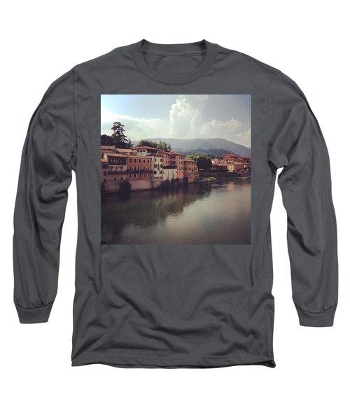 Rise And Shine #bassanodelgrappa Long Sleeve T-Shirt