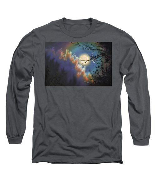 Rising Moon Long Sleeve T-Shirt