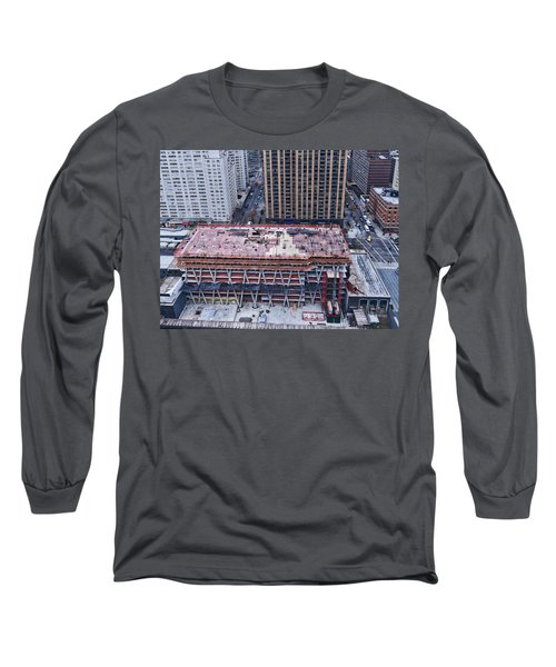 Rising Long Sleeve T-Shirt by Steve Sahm