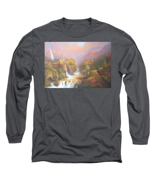 Rivendell Long Sleeve T-Shirt by Joe Gilronan