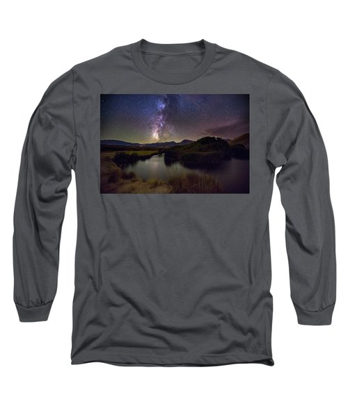 River Bend Long Sleeve T-Shirt by Tassanee Angiolillo