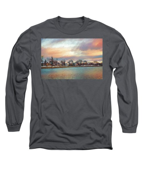 River Dream Long Sleeve T-Shirt by Celso Bressan